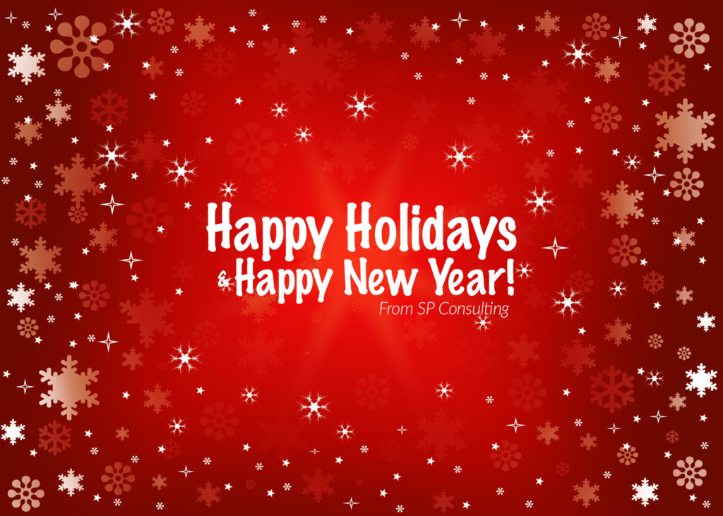 Happy Holidays and Happy New Year! - SP Consulting
